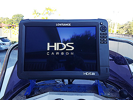 Lowrance HDS Carbon an impression innovation