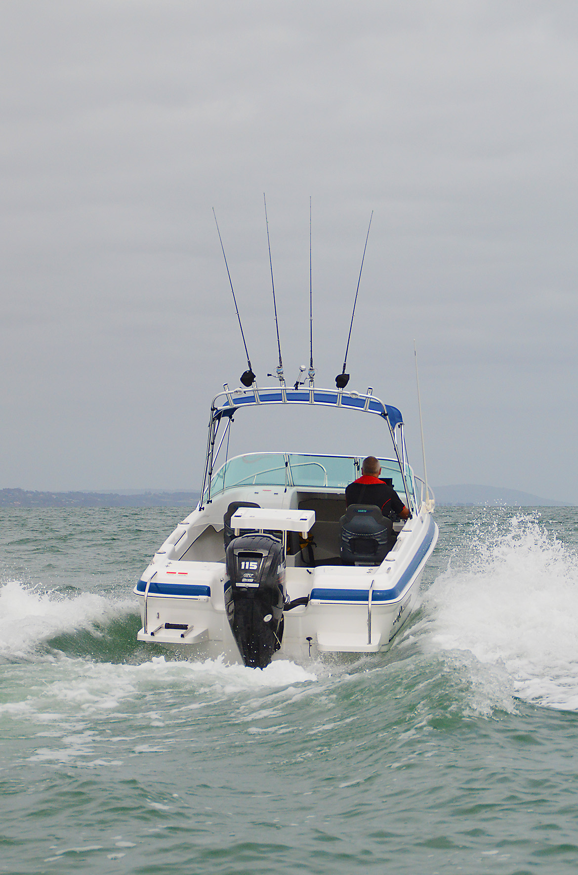 Northbank 550R with Mercury 115HP Four Stroke